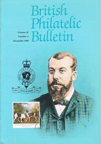 British Philatelic Bulletin Volume 28 Issue 4