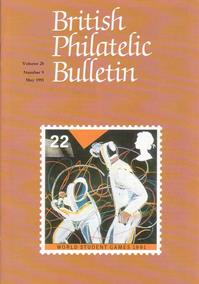 British Philatelic Bulletin Volume 28 Issue 9