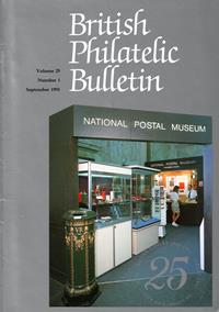 British Philatelic Bulletin Volume 29 Issue 1