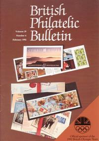 British Philatelic Bulletin Volume 29 Issue 6
