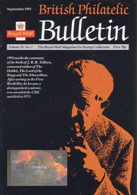 British Philatelic Bulletin Volume 30 Issue 1