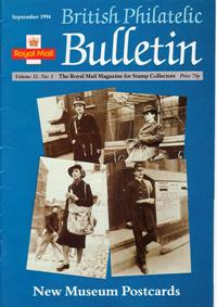 British Philatelic Bulletin Volume 32 Issue 1