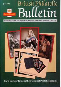 British Philatelic Bulletin Volume 32 Issue 10