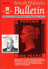 British Philatelic Bulletin Volume 32 Issue 12