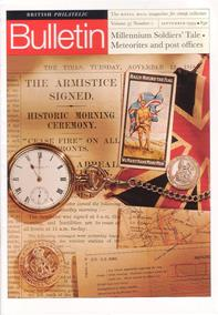 British Philatelic Bulletin Volume 37 Issue 1