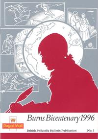 Philatelic Bulletin Publication No. 3 - Burns Bicentenary 1996