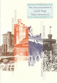 Philatelic Bulletin Publication No. 11 - The First Elizabeth II Castle High Value Definitives