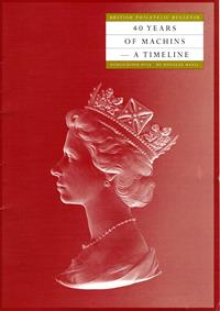 Philatelic Bulletin Publication No. 13 - The Story behind the Royal Mail Special Stamps