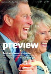 Royal Mail Preview 129 - Royal Wedding commemmoration