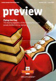 Royal Mail Preview 130 - Flying the flag