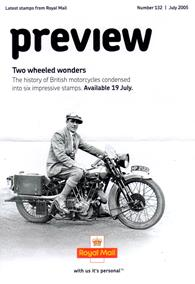 Royal Mail Preview 132 - Two wheeled wonders