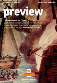 Royal Mail Preview 136 - Commanders of the Ocean