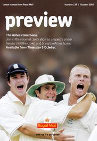 Royal Mail Preview 139 - The Ashes come home