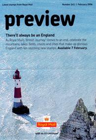 Royal Mail Preview 141 - There'll always be an England