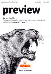 Royal Mail Preview 144 - Large than life