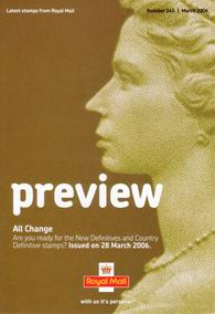 Royal Mail Preview 145 - All Change - New Definitives and Country Definitives