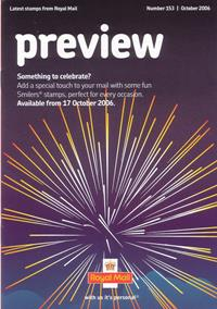 Royal Mail Preview 153 - Something to celebrate? - November 2006