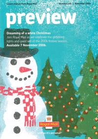 Royal Mail Preview 154 - Dreaming of a white Christmas - November 2006