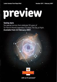 Royal Mail Preview 159 - Seeing stars