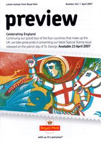 Royal Mail Preview 163 - Celebrating England