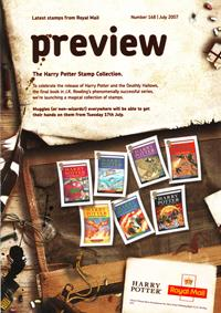 Royal Mail Preview 168 - The Harry Potter Stamp Collection