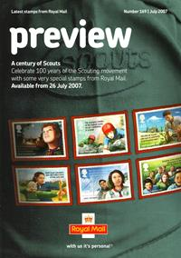 Royal Mail Preview 169 - A century of Scouts