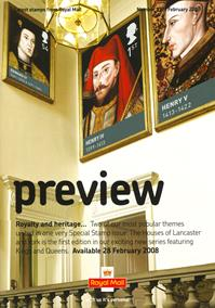 Royal Mail Preview 177 - Royalty and heritage�