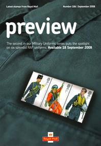 Royal Mail Preview 186 - Military Uniforms - RAF