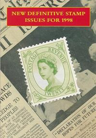 Royal Mail Preview 18 - New Definitive Stamp Issues for 1998