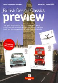 Royal Mail Preview 191 - British Design Classics
