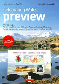 Royal Mail Preview 195 - Celebrating Wales