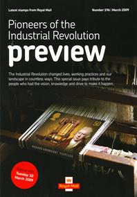 Royal Mail Preview 196 - Pioneers of the Industrial Revolution