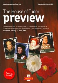 Royal Mail Preview 198 - The House of Tudor