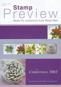 Royal Mail Preview 92 - Christmas 2002