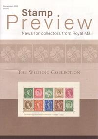 Royal Mail Preview 93 - The Wilding Collection