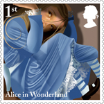 Alice in Wonderland 1st Stamp (2015) The White Rabbit's House
