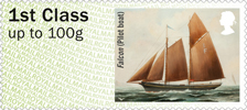 Post & Go : Working Sail 1st Stamp (2015) Falcon