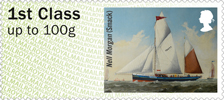 Post & Go : Working Sail 1st Stamp (2015) Nell Morgan
