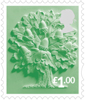 Country Definitives 2015 £1 Stamp (2015) England