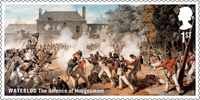 The Battle of Waterloo 1st Stamp (2015) Waterloo - The defence of Hougoumont