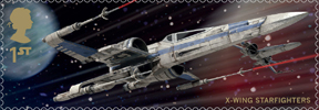 Star Wars 1st Stamp (2015) Resistance X-Wing Starfighters