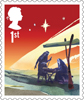 Christmas 2015 1st Stamp (2015) The Nativity