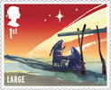 Christmas 2015 1st Large Stamp (2015) The Nativity