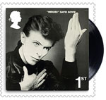 David Bowie 1st Stamp (2017) Heroes