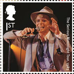 David Bowie 1st Stamp (2017) The Serious Moonlight Tour, 1983