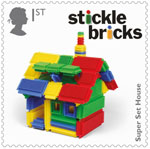 Classic Toys 1st Stamp (2017) Stickle Bricks