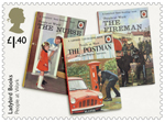 Ladybird Books £1.40 Stamp (2017) People at Work