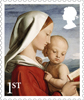 Christmas 2017 1st Stamp (2017) Madonna and Child
