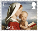 Christmas 2017 1st Large Stamp (2017) Madonna and Child