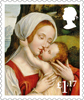 Christmas 2017 £1.17 Stamp (2017) Madonna and Child